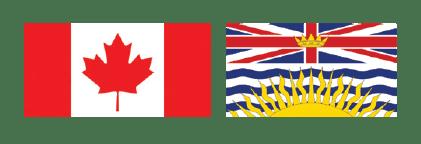 Canada-BC -Flag